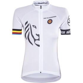 Bioracer Van Vlaanderen Pro Race Kortærmet cykeltrøje Damer hvid